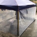 DJSMyb Bâche avec œillets pour pare-soleil de voiture, protection solaire pour abri de jardin, tente de balcon (taille : 3 x 9 m)