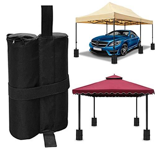RUIXIA Sac de Lestage pour Tente Sac de Sable Robuste pour Tonnelle Parasol Sacs de Poids pour Tente Pliant Parapluie de Terrasse Tonnelles de Camping
