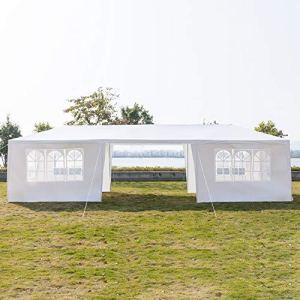 Toile d'ombrage pour gazebo 3 x 9m 7/8 côtés Tente imperméable avec tube en spirale Tente de mariage Gazebo Evénement de pavillon Heavy Duty (Color : Eight Sides)