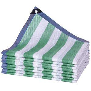 WXQIANG Filet d'ombrage en polyéthylène anti-UV, résistant aux déchirures, taille personnalisable, isolation thermique, (couleur : vert, taille : 4 x 8 m)