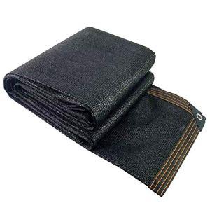 WXQIANG Filet d'ombrage pour voiture – Résistant aux UV – Anti-vieillissement – Pour plantes et jardin – Isolation thermique – Couleur : noir – Taille : 4 x 8 m