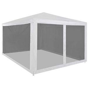 Tentes de fête, 4 x 3 m – Protection UV – Tente de fête – Tentes de jardin pliables Pavillon de jardin