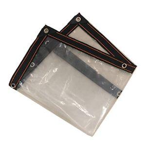 Film d'isolation en Plastique Transparent recouvrant la Housse de Protection Contre la Pluie, 17 Tailles (Color : Clear, Size : 3X6M)