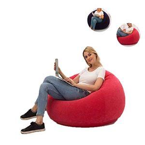 ZEFAN Chaises de canapé gonflables paresseuses, Chaise Longue de Famille de canapé de Salon de siège de Blow up pour Balcon, arrière-Cour, Camping