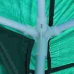 Zerone Tonnelle de jardin 3 x 6 m avec sac de transport Vert