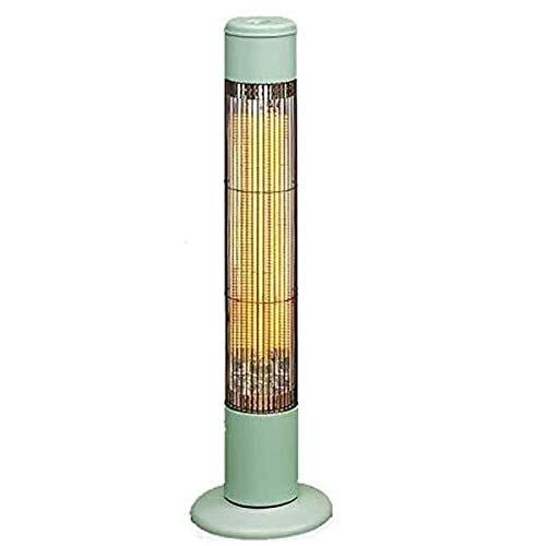 LOVEHOUGE Parasol chauffant électrique 800 W – Chauffage infrarouge en carbone pour intérieur et extérieur – Vert