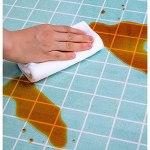 Housse de table rectangulaire en plastique vinyle transparent de 1 mm d'épaisseur, résistante à l'eau, réutilisable pour table de chevet