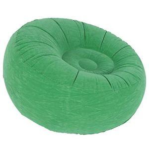 Changor Canapé Gonflable extérieur, Chaise de canapé en Flocage et PVC 100x100x555555cm de Confort Maximum pour Salon Balcon Jardin