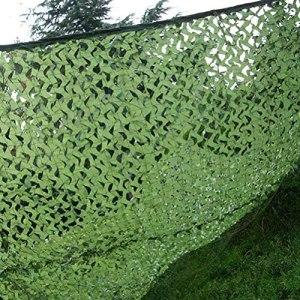 Filet de Protection Solaire ExtéRieur, Camouflage Chasse Chasse Net Army Camo Caractère De Voiture, Jungle Cachée Cascing Camping Forêt Militaire Camo Net, Multi-taille(Size:3x4m(9.8*13.1ft))