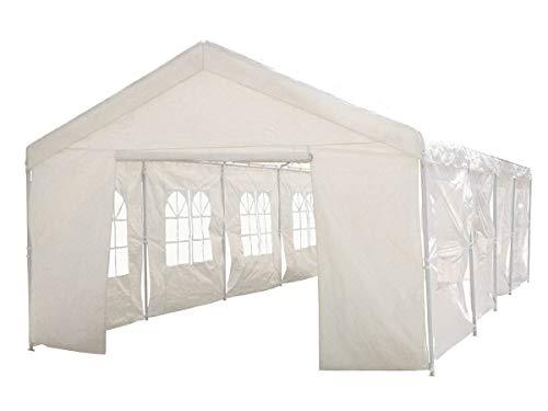 Habitat et Jardin – Tente de réception Celia en polyéthylène – 50m² – 5 x 10 x 2.9 m