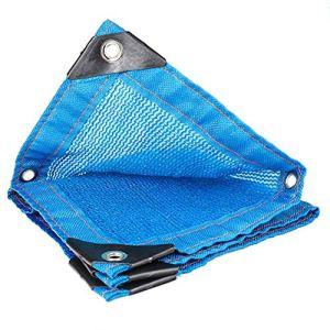 Sunshade Net Blue 6 Stitches Insulation Shade Réseau de Protection Solaire pour Toit de Parking, 23 Tailles (Color : Blue, Size : 3X6M)