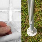 TecTake 800382 Tonnelle Tente Gazebo Pavillon de Jardin d'événement pour Fête 3×6 m – diverses Couleurs – (Blanc | No. 402301)