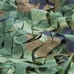 Voile D'ombrage Filet de,bache filet toile d'ombrage rectangulaire Chasse Sauvage frappant Le,Idéal Le Camouflage, la Chasse, la décoration Militaire – Parfai(Size:3x4m/9.84×13.12FT,Color:armée verte)