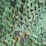 filet camouflage renforce desert filet de camouflage ombrage,abri militaire Militaire Couverture,Pour jardin, loisirs, camping, fête, bar, décoration de chasse (Size:3x3m/9.84×9.84FT,Color:Jungle)