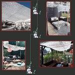 Filet de camouflage blanc Filets de protection solaire 2x3m 2x4m 2x5m 2x6m Filet Camouflage 3x3m 3x4m 3x5m 3x6m 5x5m 5x6m 6x6m 6x8m 8x8m 8x10m 10x10m Filet de camouflage Filet de camouflage Filet de c
