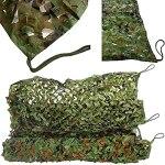 Filet de camouflage Filet Camouflage Filets de protection solaire Filet de parasol Décoration de fête Couverture de voiture 2x3m 2x4m 2x5m 2x6m 3x3m 3x4m 3x5m 3x6m 5x5m 5x6m 6x6m 6x8m 8x8m 8x10m 10×10