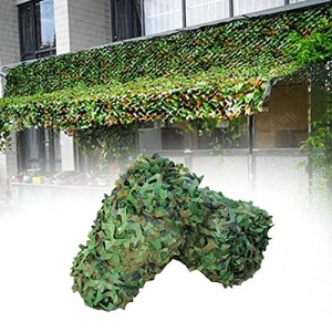 Filet de camouflage forestier 2x3m 2x4m 2x5m 2x6m 3x3m 3x4m 3x5m 3x6m Filet Camouflage 6x6m 6x8m 8x8m 8x10m 10x10m Filet de camouflage Filets de protection solaire Décoration de fête Couvertures de vo