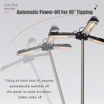 JTDSQDC Parasol Chauffant,Radiateur Electrique Infrarouge Facile a Monter Ip34 Imperméable Protection Contre La Surchauffe 2000w 3 Niveaux De Température,Convient pour L'intérieur Et L'extérieur