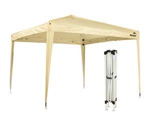 MaxxGarden Tonnelle Pliante imperméable Tente Pliante 3x3m Tonnelle de Jardin Gazebo Pliable Tente de Reception