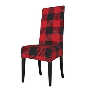 Uliykon Housse de chaise de salle à manger extensible – Housse de chaise en élasthanne – Amovible et lavable – Pour salle à manger, cuisine, hôtel, cérémonie, fête