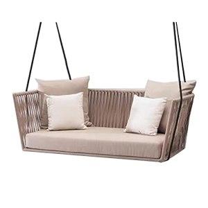 Canapé de Jardin Meubles de terrasse extérieure, Courtyard Rattan Dialogue Set, Sofa modulaire Tous Temps (Color : Style 8)