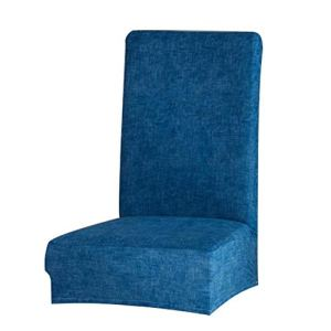 Housse de chaise de salle à manger super ajustée, extensible, amovible, lavable, tissu élasthanne doux pour maison, hôtel, salle à manger, cérémonie, banquet, fête de mariage, restaurant