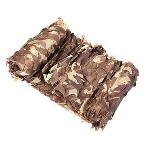 Réseau de camouflage du désert 2x3m 2x4m 2x5m 2x6m 3x3m 3x5m 3x6m 5x5m 5x6m 6x6m 6x8m 8x8m 8x10m 10x10m Filet de décoration Filets de protection solaire Décoration de fête Housses de voiture Filet de