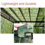 YiDD CamouflageFilet Filet de Camouflage Camping léger et Durable, différentes Tailles personnalisées 2x3m3x5m, 4x6m, 8x8m, 9x10m (Size : 3x9m9.84×29.52ft)