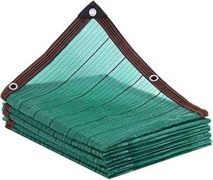 DONGQISHANGMAO Toile d'ombrage 90 % verte – Filet résistant noir – Recouvert de plantes, serres, poulaillers, tomates, plantes – Couleur : 5 x 10 m