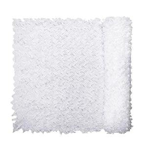 YiDD Filet de Camouflage Blanc 2x3m 2x4m 2x5m 2x6m 3x3m 3x4m 3x5m 3x6m 6x6m 6x8m 8x8m 8x10m 10x10m Filet Camouflage décoration de fête Filet d'ombrage extérieur (Size : 6x10m9.68×32.8ft)