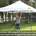 ABCCANOPY Tonnelle de Jardin 3 x 3 m entièrement étanche et Robuste Orange