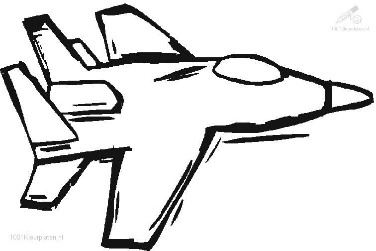 vehicle gt gt airplane gt gt jet coloring page