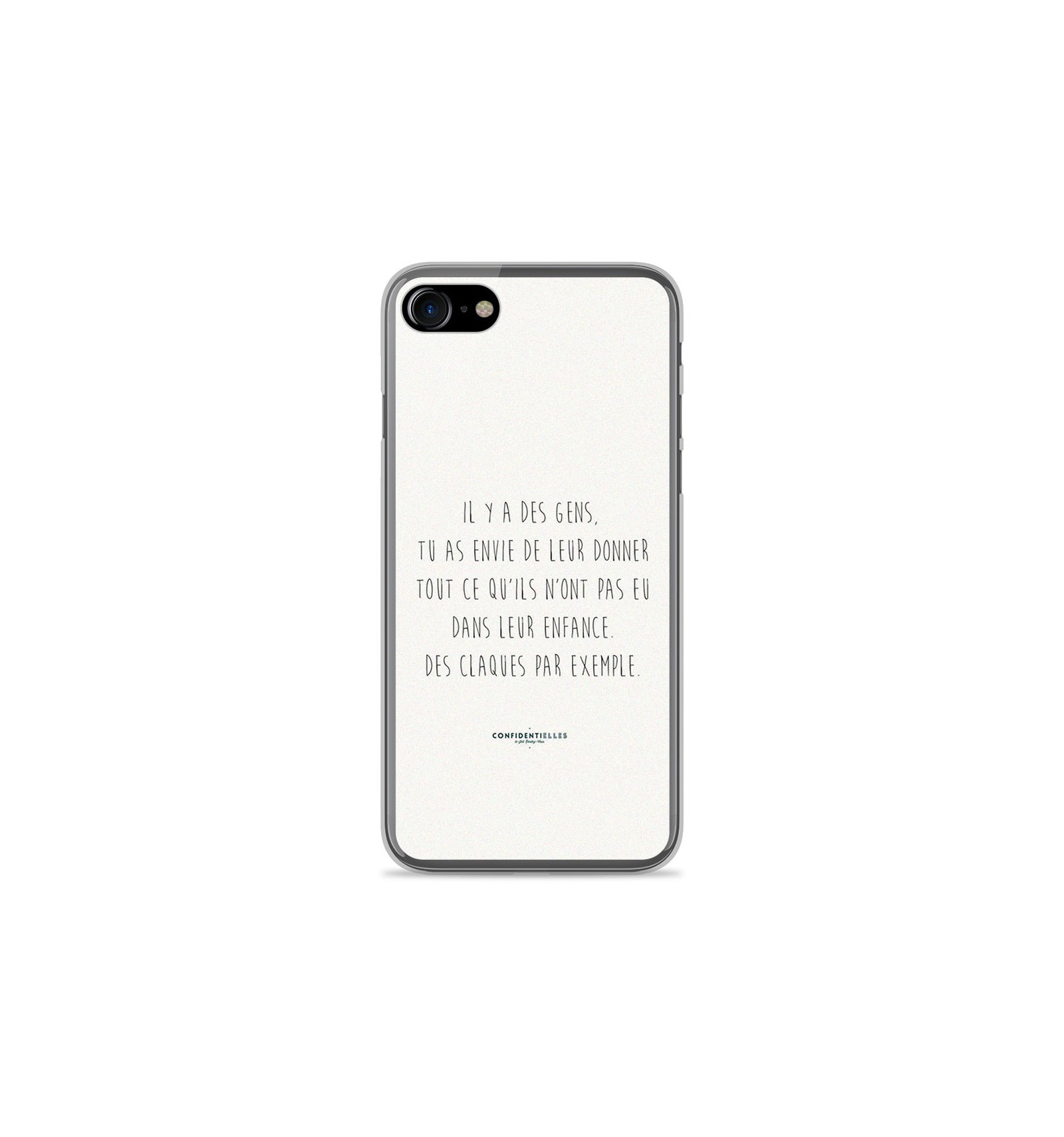 Coque En Silicone Apple Iphone 8