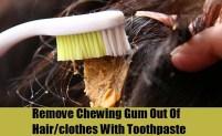 remove-gum-toothpaste