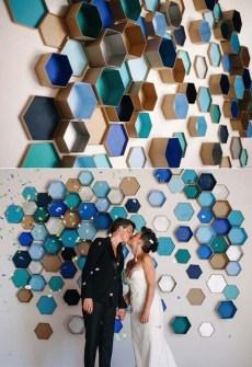 Caixinhas podem enfeitar a parede perfeitamente