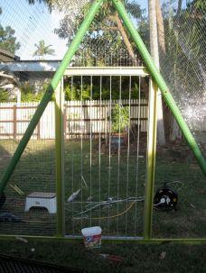 DIY-Repurposed-Swing-Set-Chicken-Coop-7