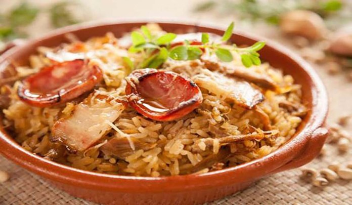 arroz pato