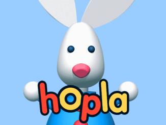 Hopla op nummer 10 in de top 10 bekendste konijnen