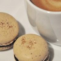 Makroner med kaffe