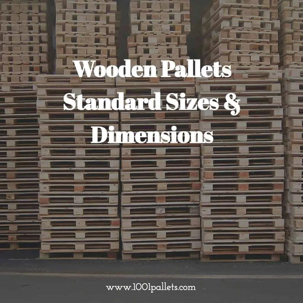 Pallet Dimensions International Standard Sizes Amp Dimensions