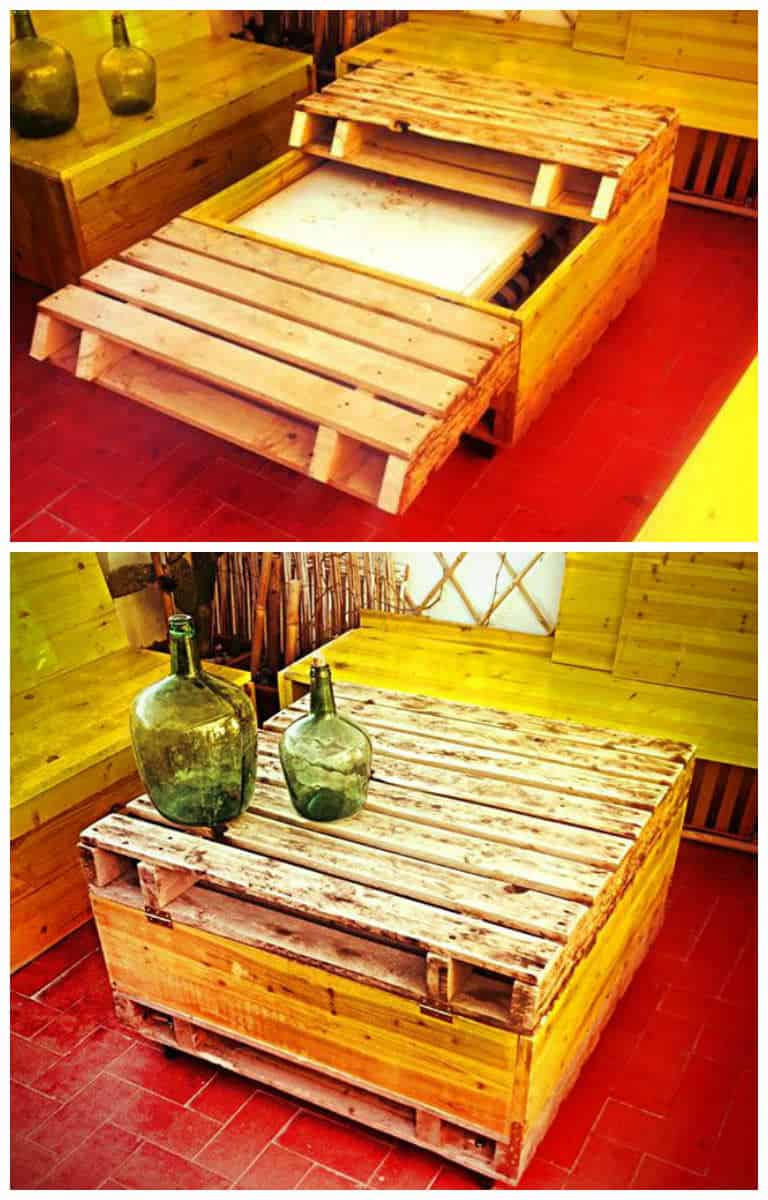 Recycled Pallet Into Table 1001 Pallets
