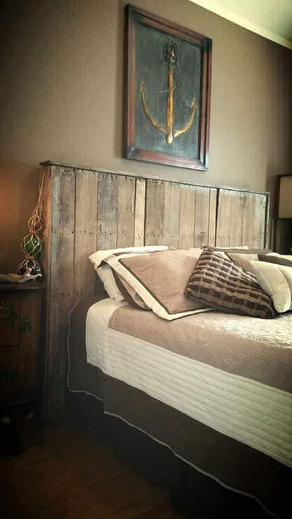 Pallet Bed Headboard 1001 Pallets