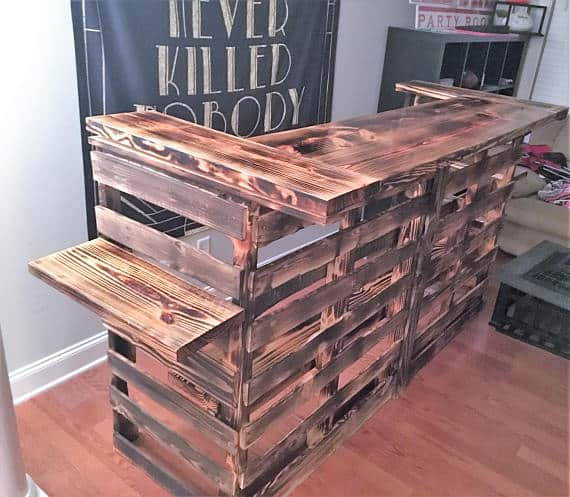 64 awesome wooden pallet bars for your