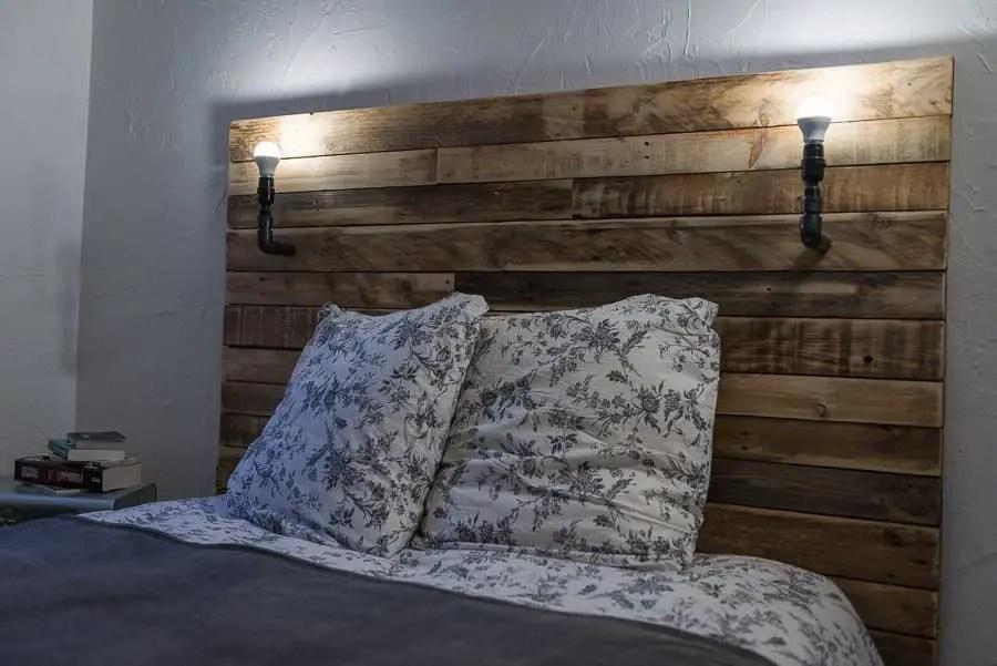 Tte De Lit Pallet Bed Headboard 1001 Pallets