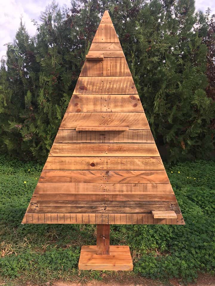 Pretty Pallet Christmas Tree Collection 1001 Pallets