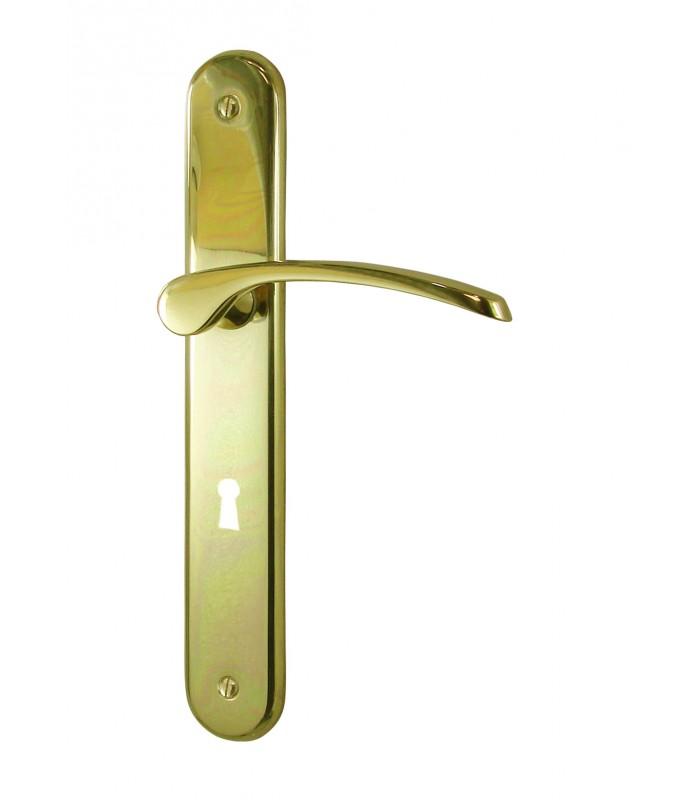 poignees de porte eva laiton poli 195 1001poignees votre specialiste de la poignee de porte