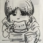 lunch time drowing 190814
