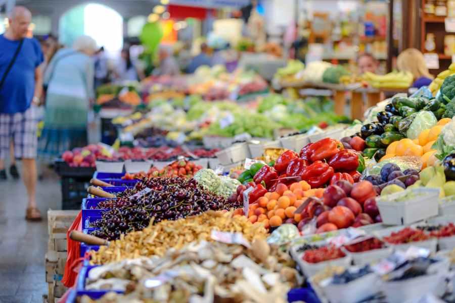 Рынки Паттайи: Фруктовый рынок - Fruit market