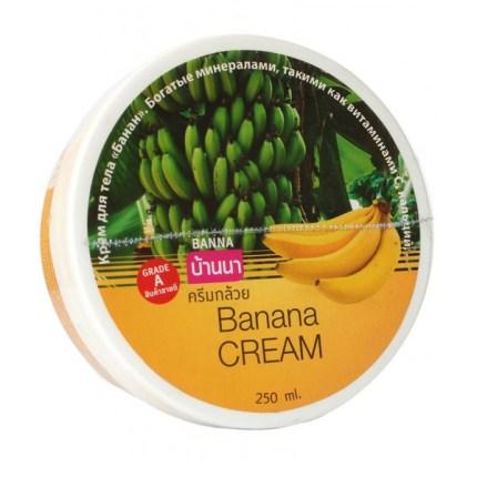 Натуральный питательный крем для тела с бананом Banna Banana Cream 250 мл.