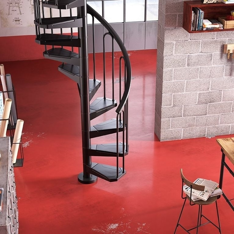 L00L Stairs Space Saving Staircases | Spiral Staircase To Attic | Easy | Adding | Stairway | White | Corner